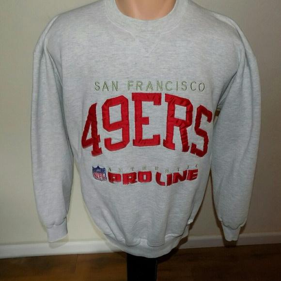 low priced 99970 c9cbf Vintage Russell San Francisco 49ers Sweatshirt